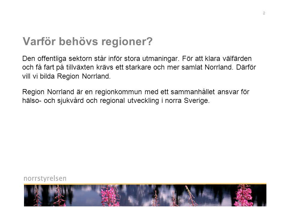 2 Varför behövs regioner.Den offentliga sektorn står inför stora utmaningar.