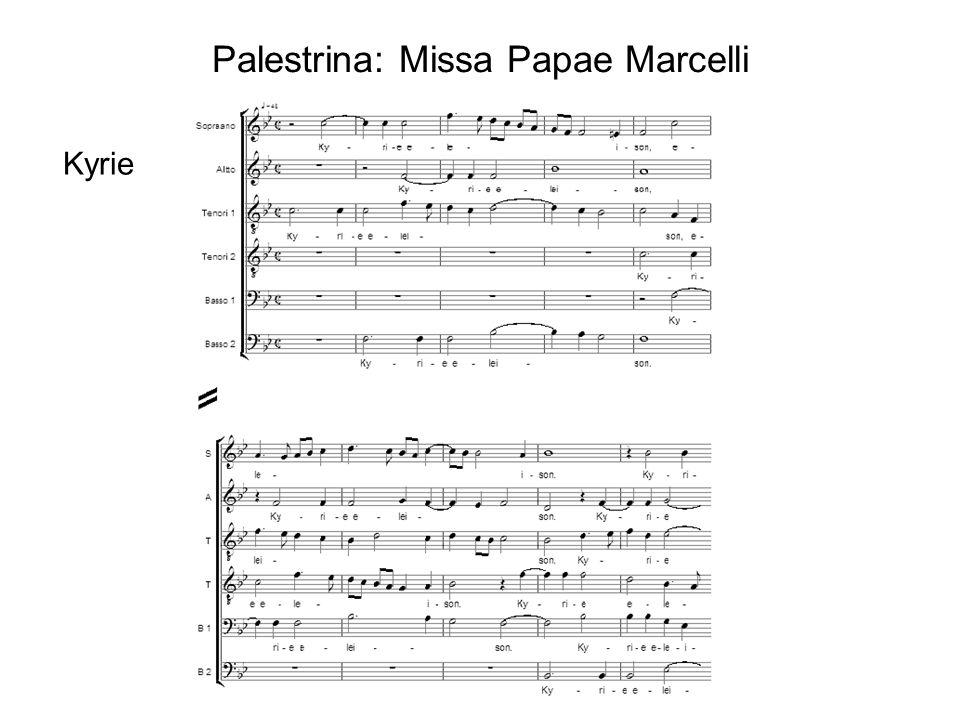 Palestrina: Missa Papae Marcelli Kyrie