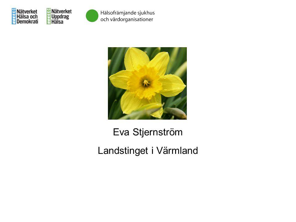 Eva Stjernström Landstinget i Värmland