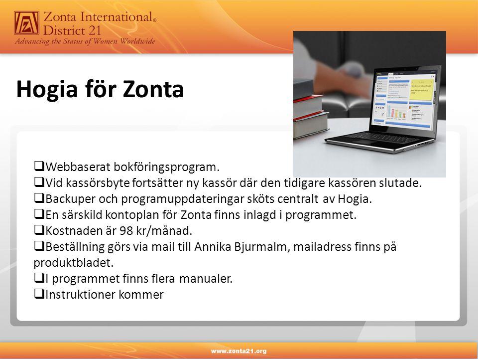  Webbaserat bokföringsprogram.