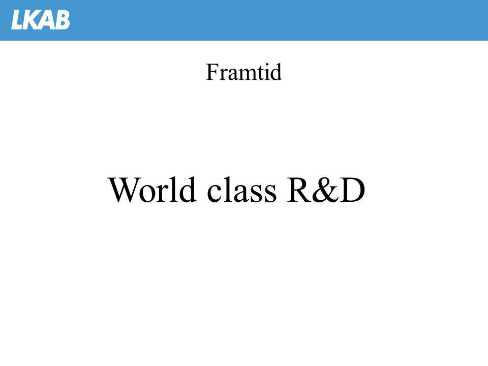 Framtid World class R&D