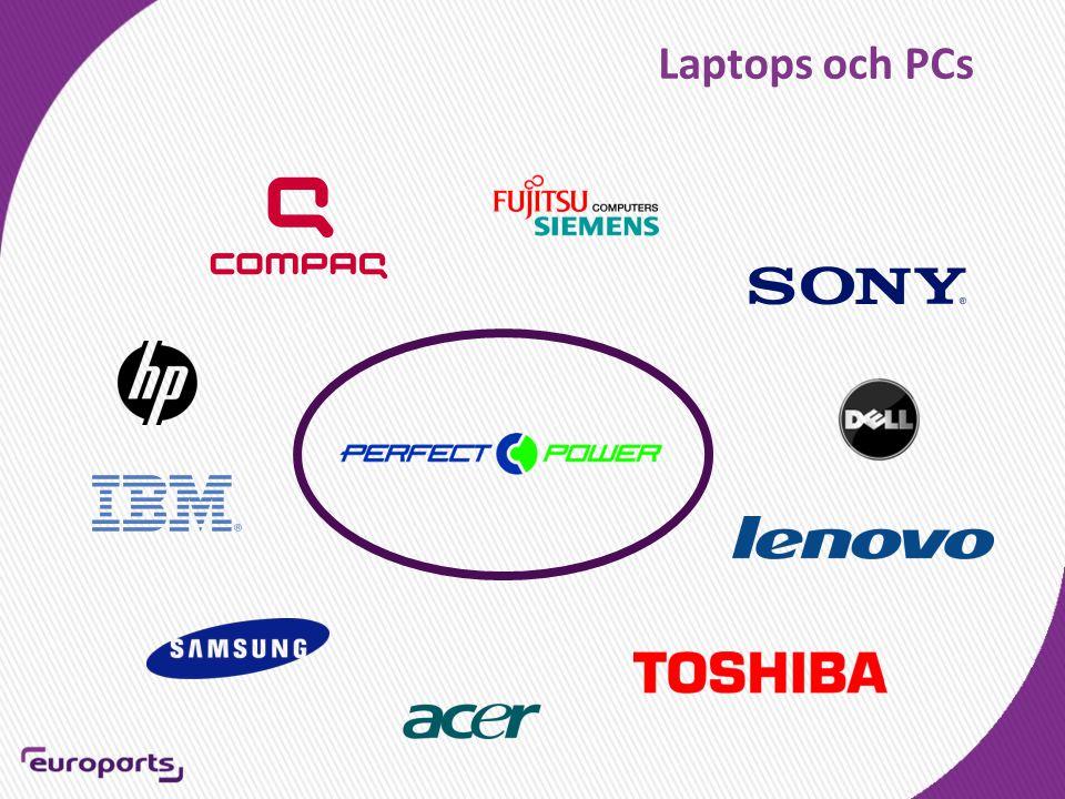 Laptops och PCs