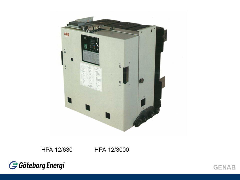 GENAB HPA 12/630 HPA 12/3000