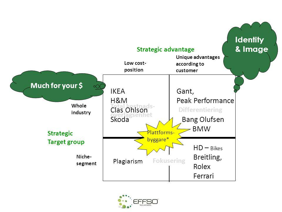 Grupparbete 45 min • Analysera kategoriindelningen och diskutera vilka kategorier som är strategiska-, hävstångs, flaskhals och standardprodukter.