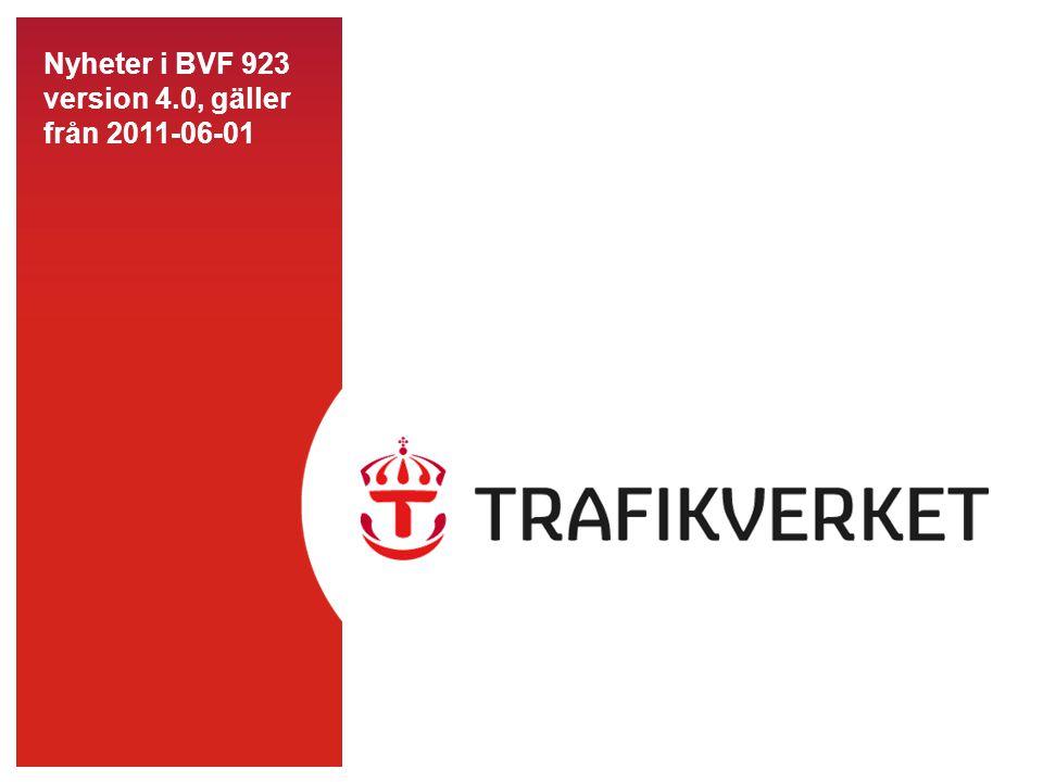 82014-07-02 Nyheter i BVF 923 •Riskbedömning har införts som ett nytt begrepp för att höja betydelsen av den säkerhetsmässiga planeringen av skyddet.