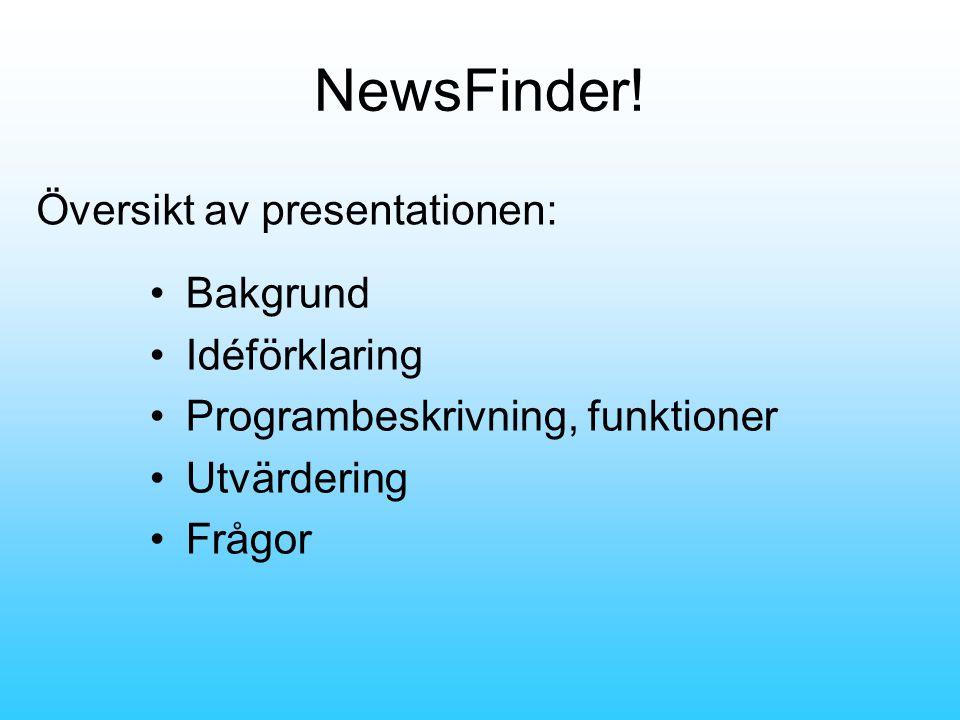 NewsFinder.