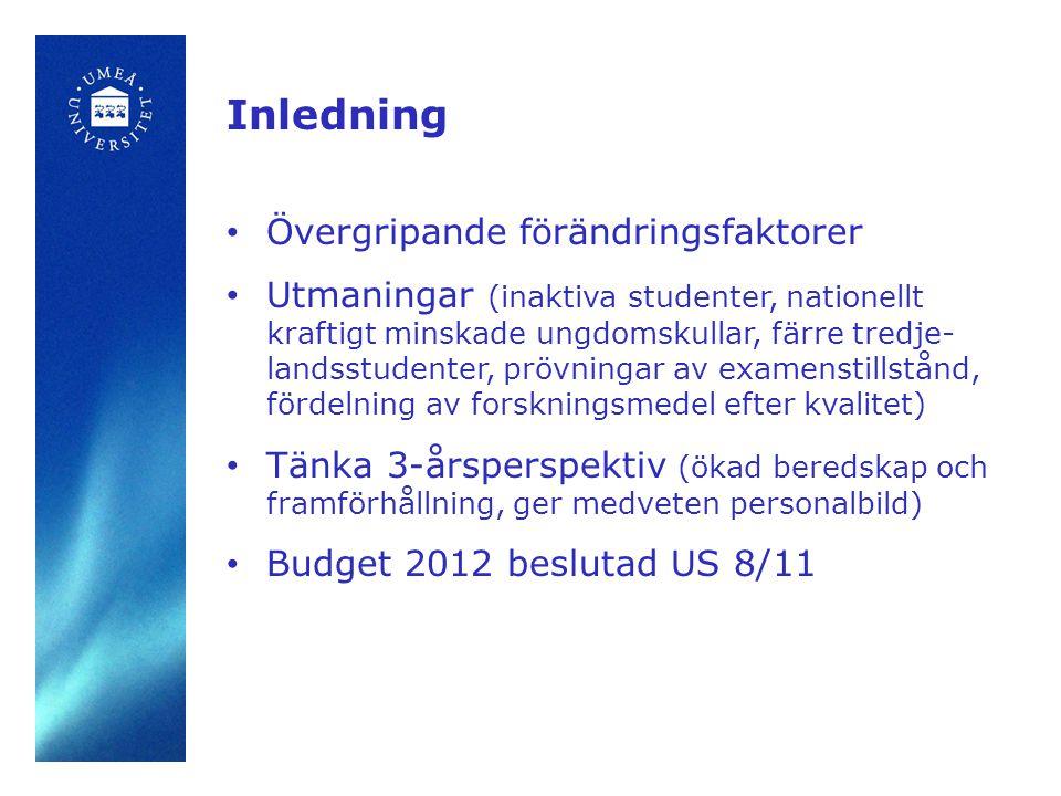 Budget 2012 - Sammanfattning •År 2012-2014 kommer kostnaderna troligtvis att öka mer än intäkterna.