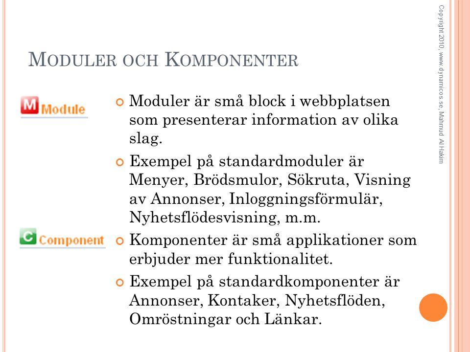 L ITE OM P OSITIONER Copyright 2010, www.dynamicos.se, Mahmud Al Hakim