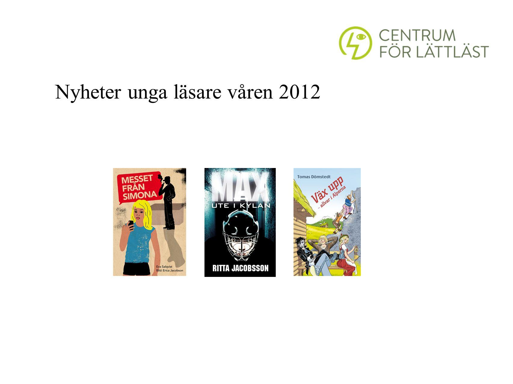 Nyheter unga läsare våren 2012