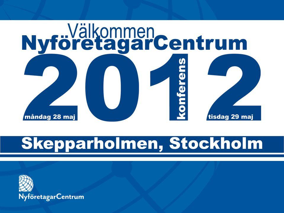 ANTAL FÖRETAGSSTARTER 2011 2010 9 80010 600 NYFÖRETAGARCENTRUMS RESULTAT 2011  ANTAL STARTER