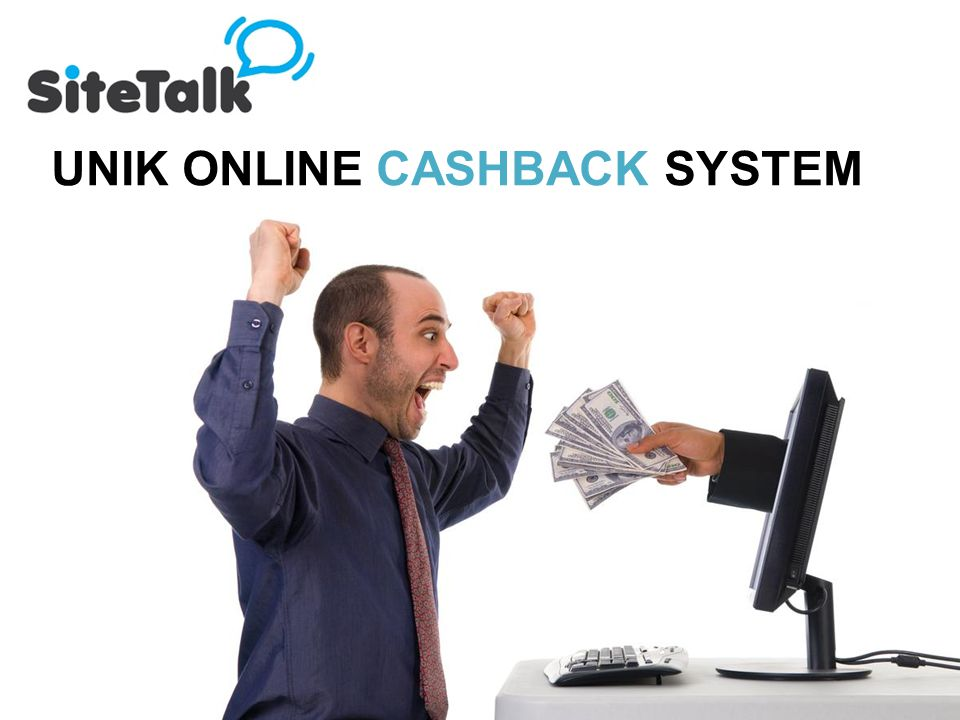 UNIK ONLINE CASHBACK SYSTEM