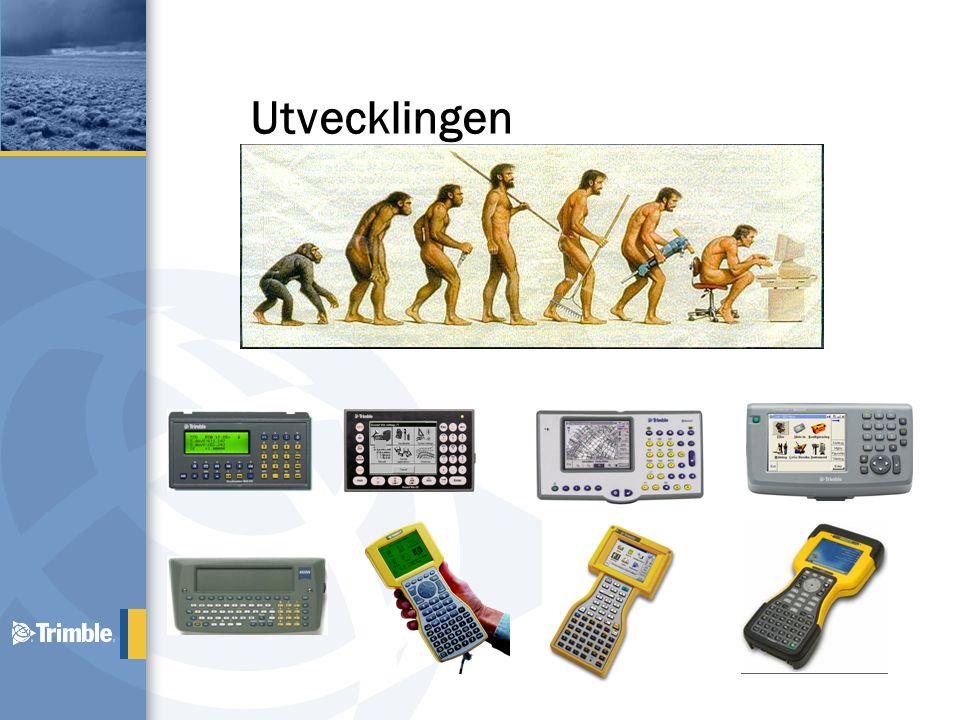 Intelligent kombination Survey Controller: Plattform, för många Trimble system