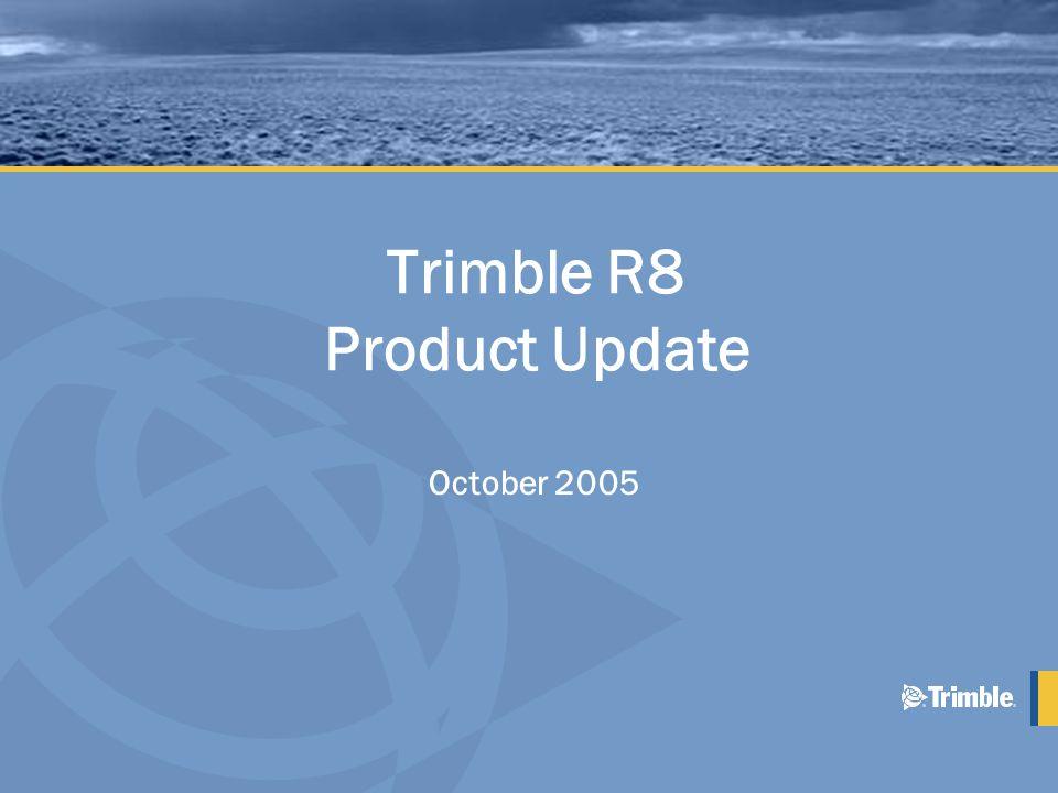 September 2003 Introducerades Trimble R8 GPS •Byggd på 5800 Systemet + plus : –L2C –Trimble R-Track Teknologi –4 MB extra minne •Första delen av GPS moderniseringen: –1:a L2C Satelliten sköts upp 26 Sep 2005