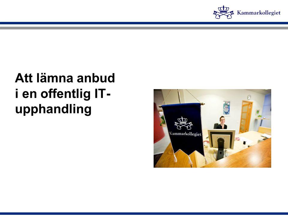 Bakgrund till upphandlingsreglerna  Tidigare 4 förfarandedirektiv och 2 rättsmedelsdirektiv,  Inom den klassiska sektorn fanns det 3 stycken direktiv (byggentreprenader-, varor- och tjänster)  Inom försörjningssektorn fanns ett direktiv (vatten-, energi-, transport- och telekommunikation)  Nytt lagstiftningspaket från kommissionen = ett direktiv för klassiska sektorn, ett för försörjningssektorn  Mars 2005 Upphandlingsutredningen 2004, lämnar betänkande kring de obligatoriska delarna  Januari 2008 den nya lagen om offentlig upphandling träder i kraft