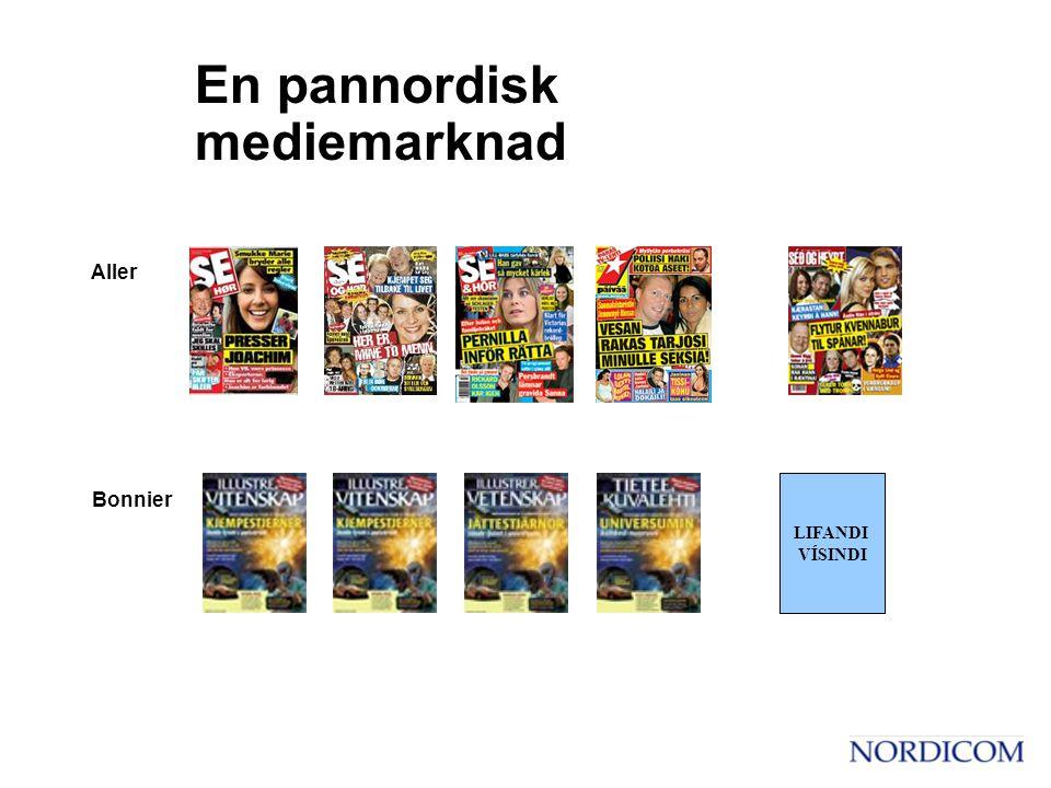 Aller LIFANDI VÍSINDI Bonnier En pannordisk mediemarknad