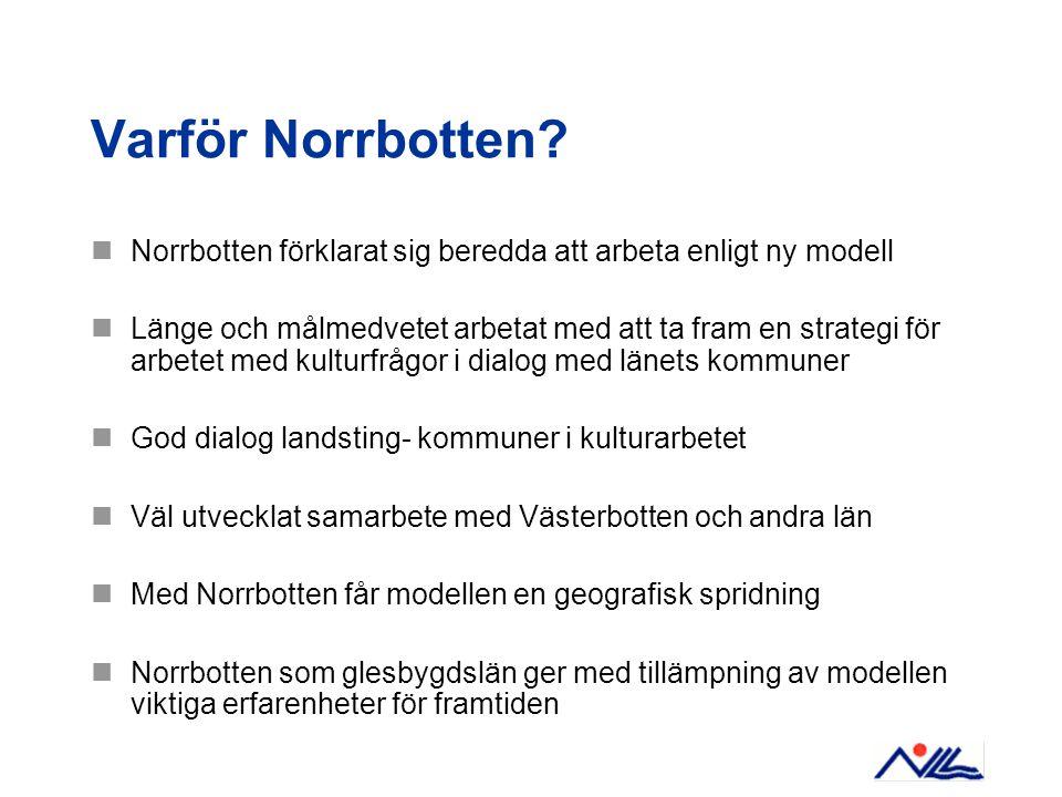 Varför Norrbotten.