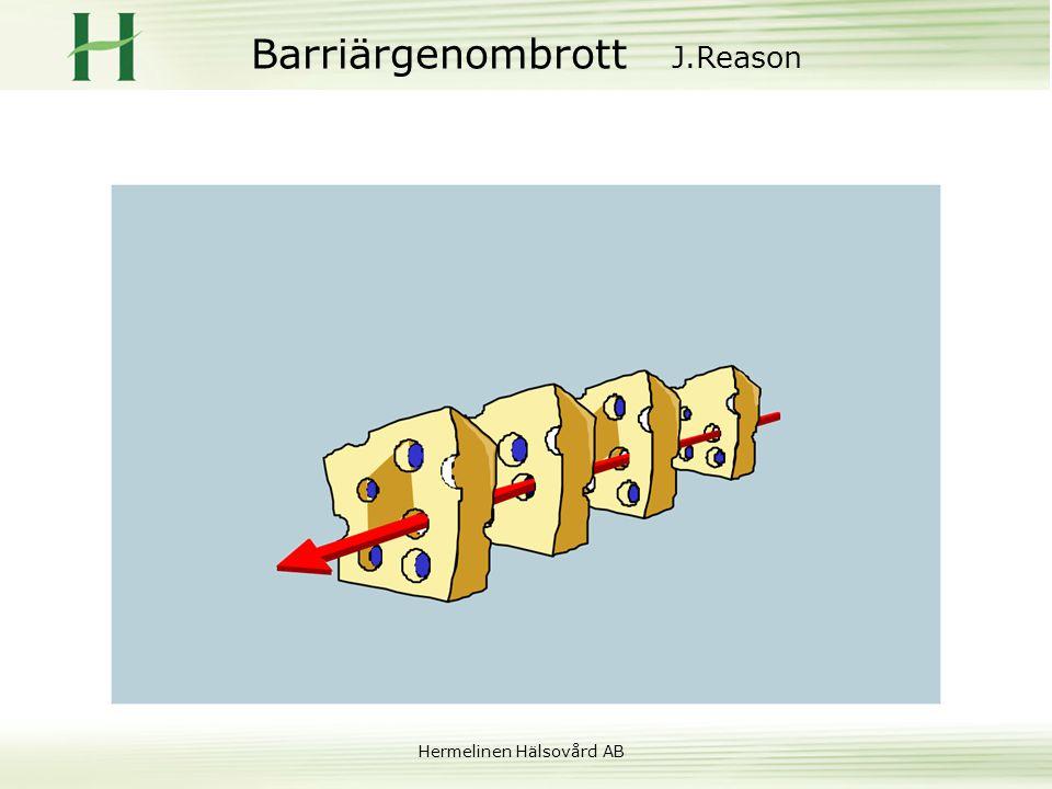 Hermelinen Hälsovård AB Barriärgenombrott J.Reason