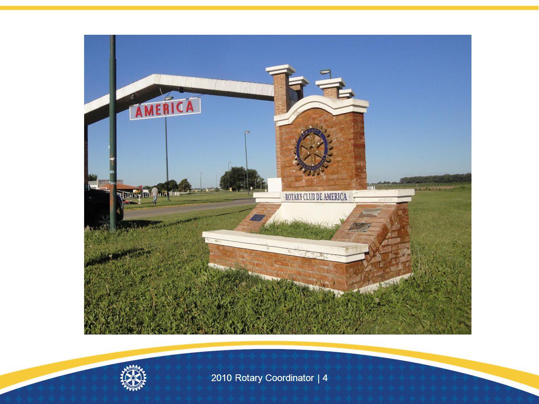 2010 Rotary Coordinator | 4