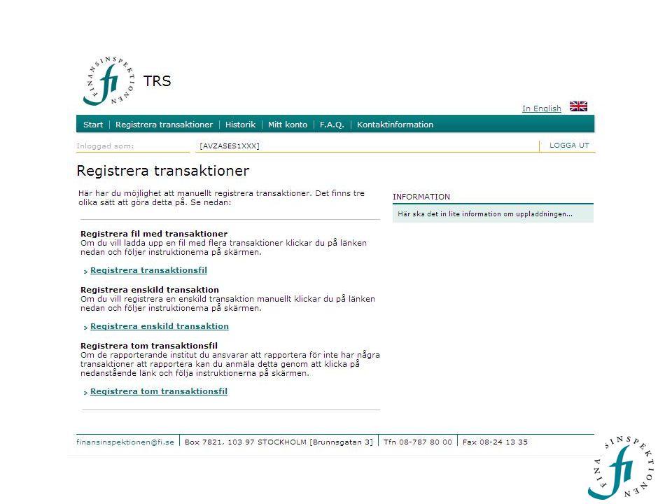 FFFS 2007:17 – information före och efter handel  Aktier  Skuldebrev  Andra finansiella instrument