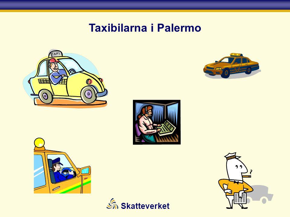 Skatteverket Taxibilarna i Palermo
