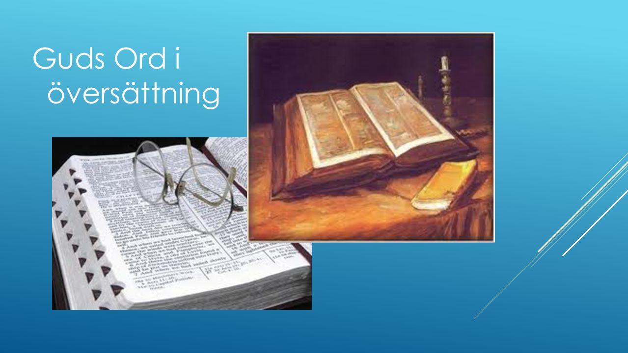 Guds Ord i översättning