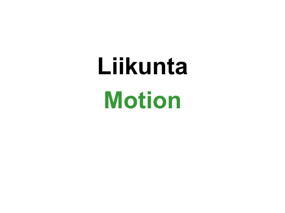 Liikunta Motion