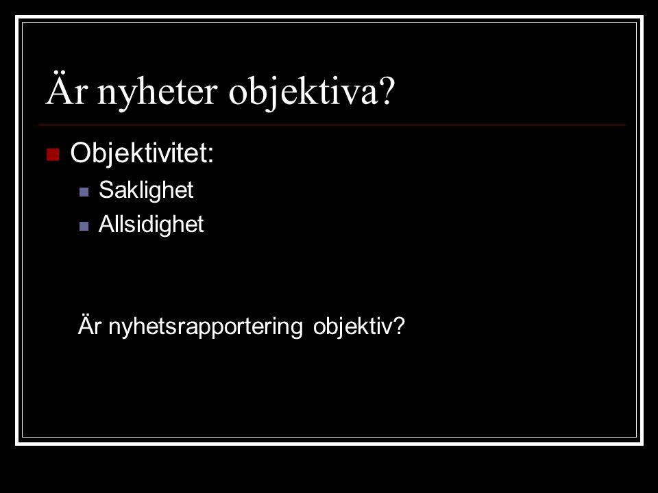 Från händelse till nyhet  Nyhetsbyrå  gallring  TT  gallring  Nyhetsredaktion  gallring  läsare  gallring
