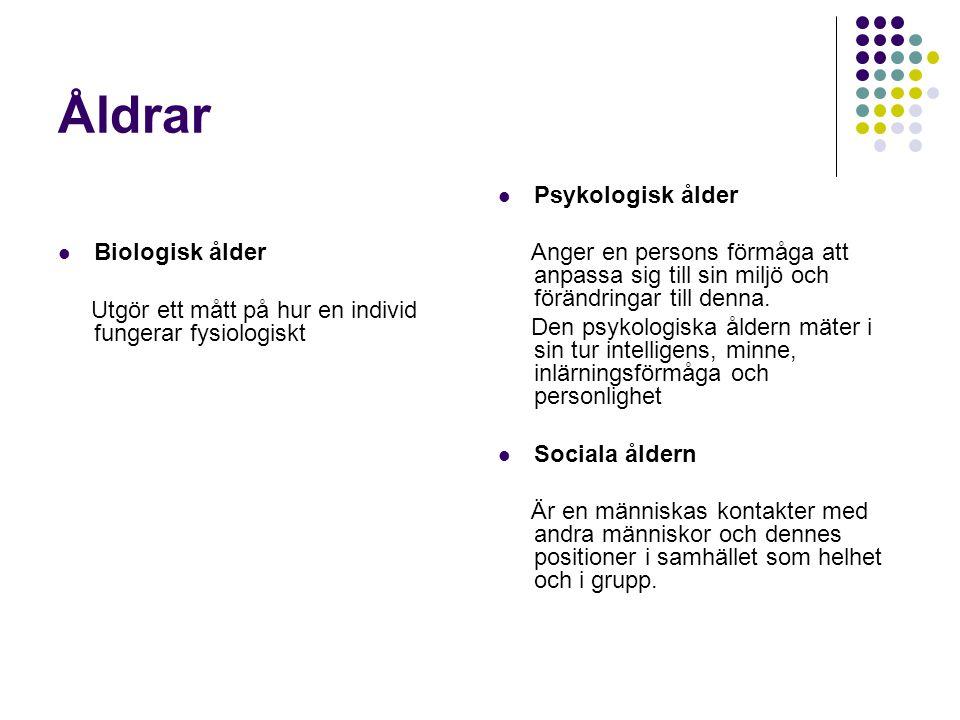 Övriga symtom  Tanke störningar  Personlighets förändringar  Beteende störningar  Psykiatriska problem  Spatial desorientering  ADL problem  Motoriska problem  Fysiska problem