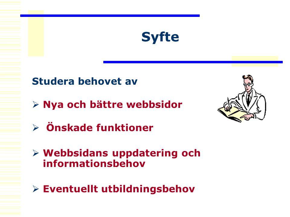 Litteraturbakgrund Litteraturstudier  Internet  Webdesign  Webpromote  EU-krav