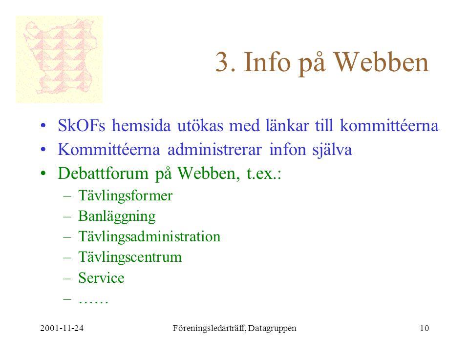 2001-11-24Föreningsledarträff, Datagruppen10 3.