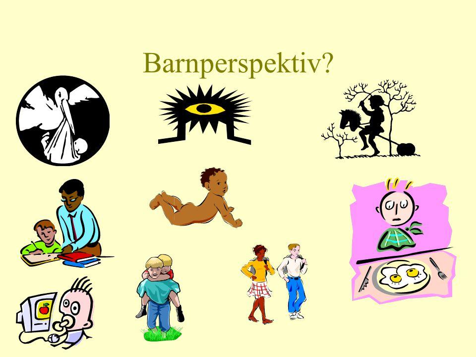 Barnperspektiv?