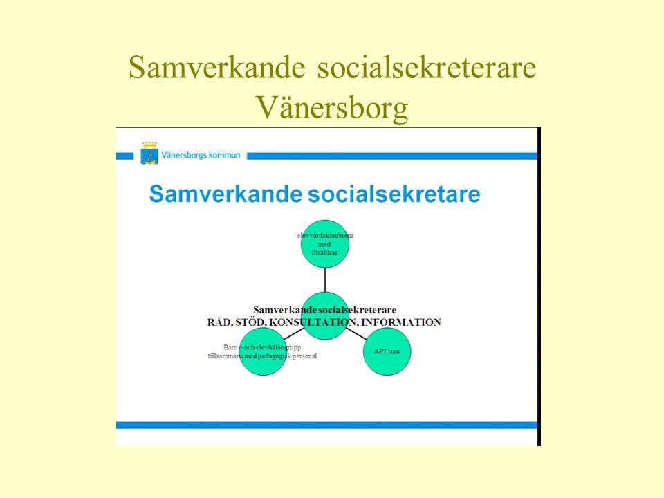 Samverkande socialsekreterare Vänersborg