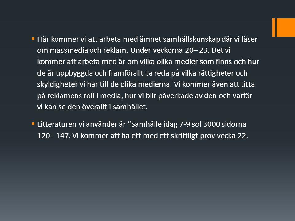 Tryckfrihet  1766 kom första tryckfrihetsförordningen i Sverige.