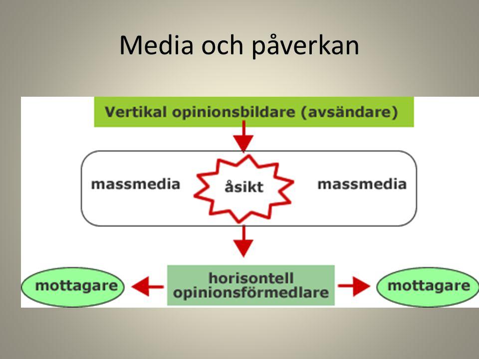 Media och påverkan