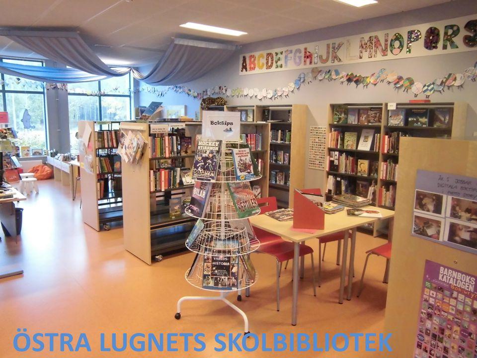 Till biblioteket kommer alla elever schemalagt varje eller varannan vecka.