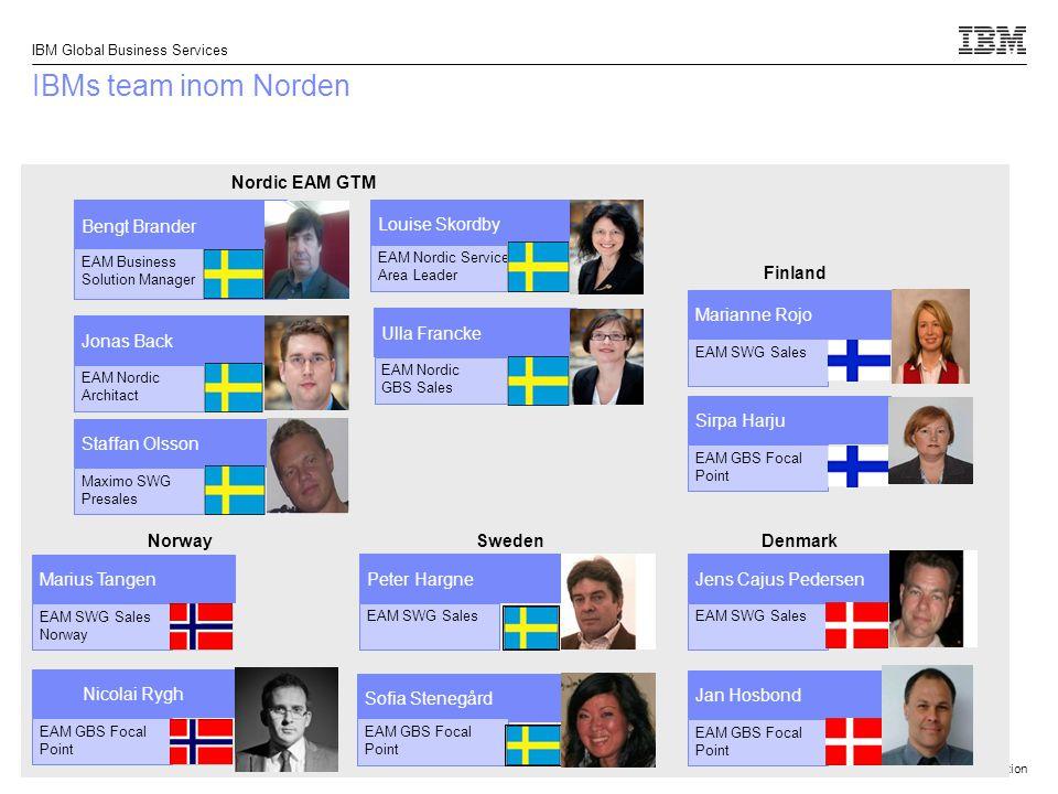 © 2013 IBM Corporation IBM Global Business Services 9 Nya konsulter  Uffe Rasmussen (IT Asset Mgmt)  Louise Soltanieh (Maximo)  Olli Pajari (Maximo)  George Dakooh (Tririga)  Ali Mrani (Tririga)  Marcus Mårdh (Tririga)