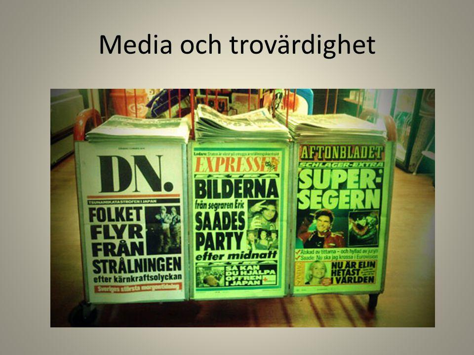 Media och trovärdighet