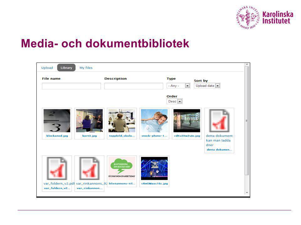 Media- och dokumentbibliotek