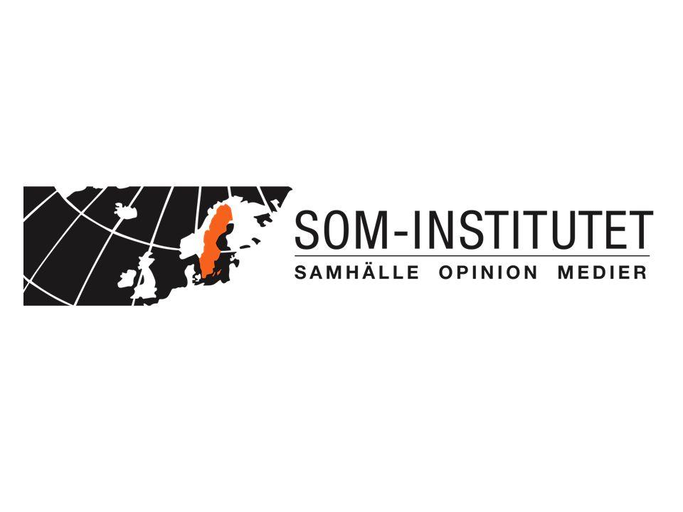 www.som.gu.se Twitter: #somgu Andel som anser att myndigheten sköter sin uppgift mycket bra eller ganska bra bland de som känner till myndigheten (procent)