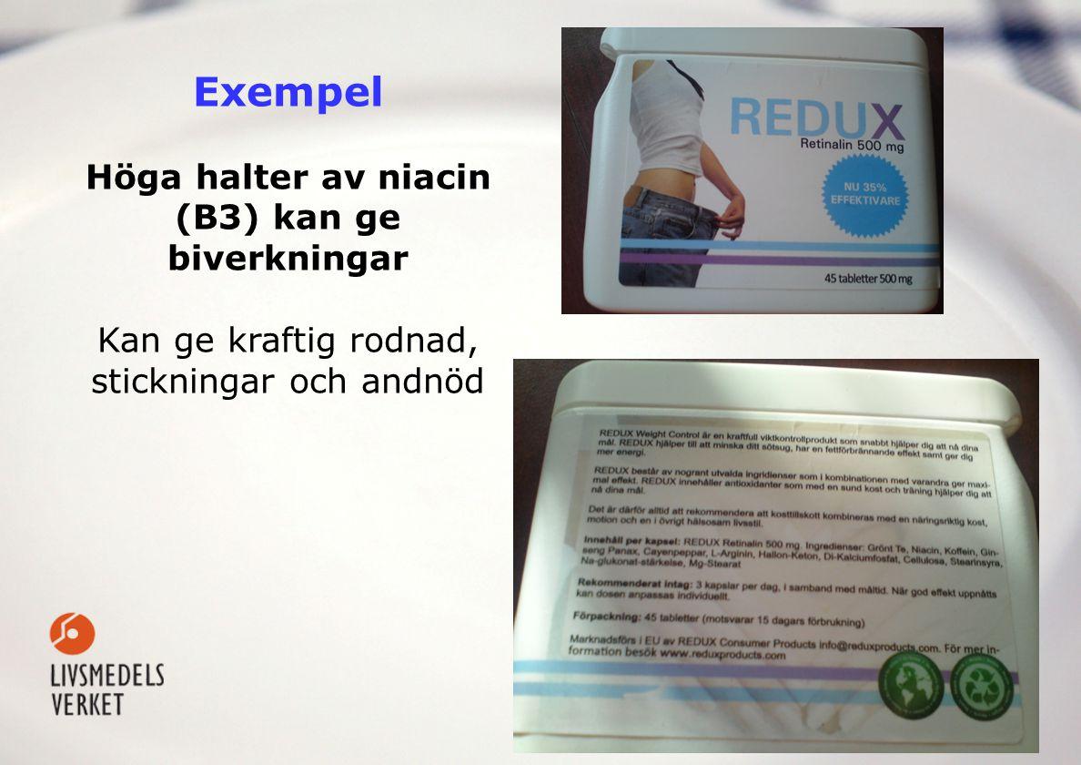 Andra ämnen som kan ingå i kosttillskott • Aminosyror • Essentiella fettsyror (ex.