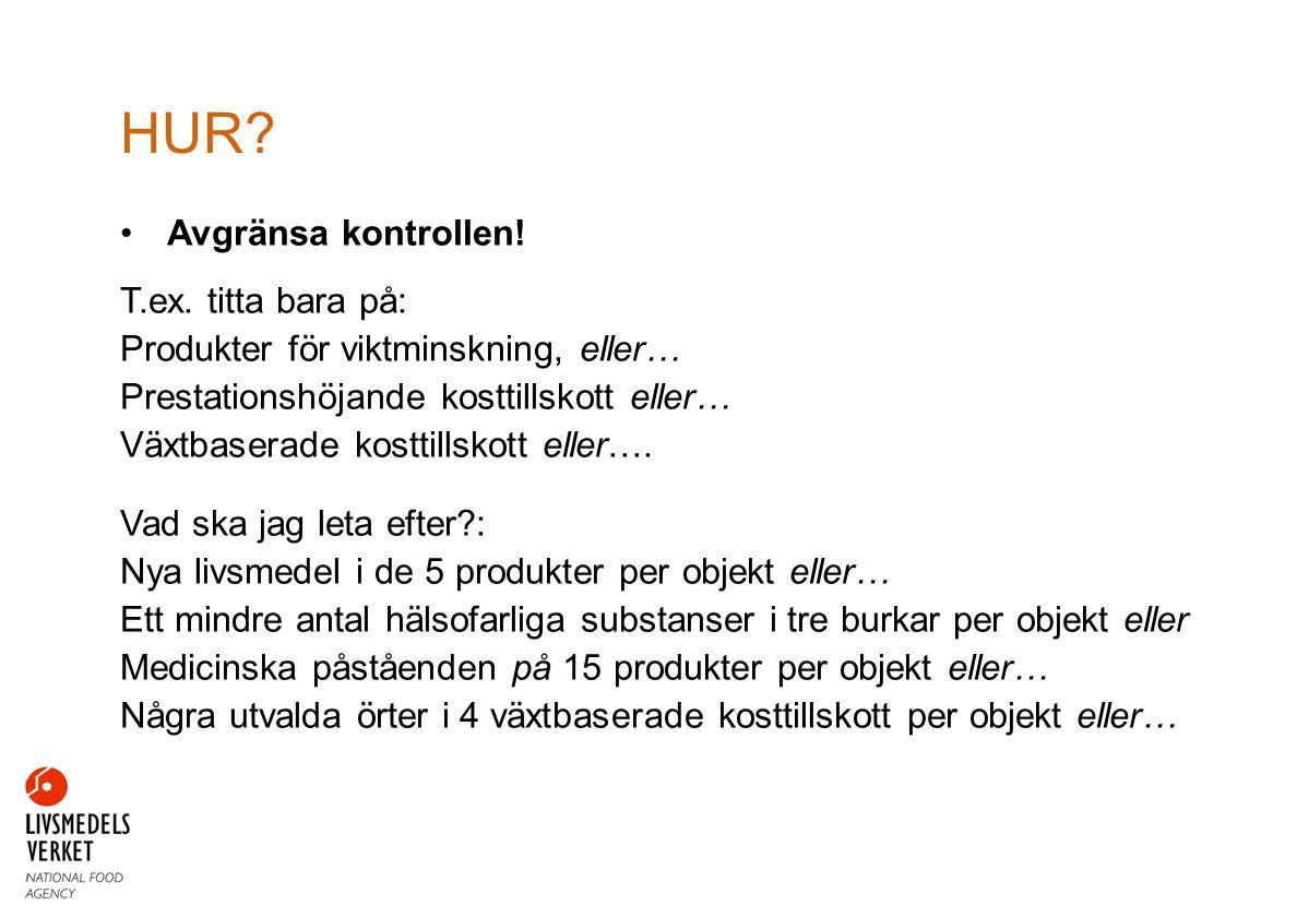 Stockholms kosttillskottsprojekt