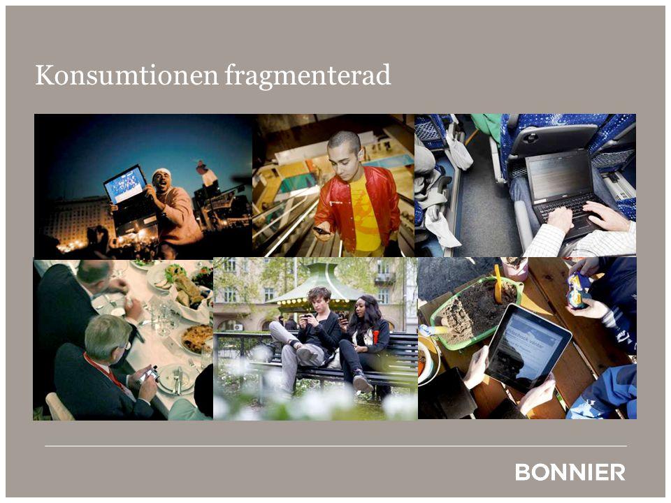 Konsumtionen fragmenterad