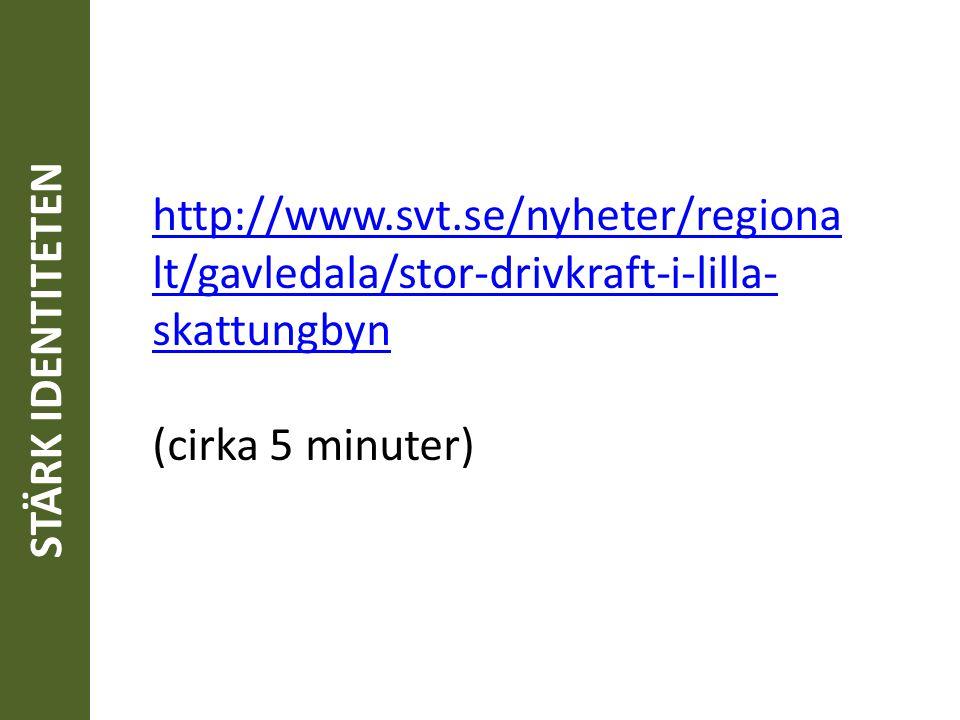 http://www.svt.se/nyheter/regiona lt/gavledala/stor-drivkraft-i-lilla- skattungbyn (cirka 5 minuter)