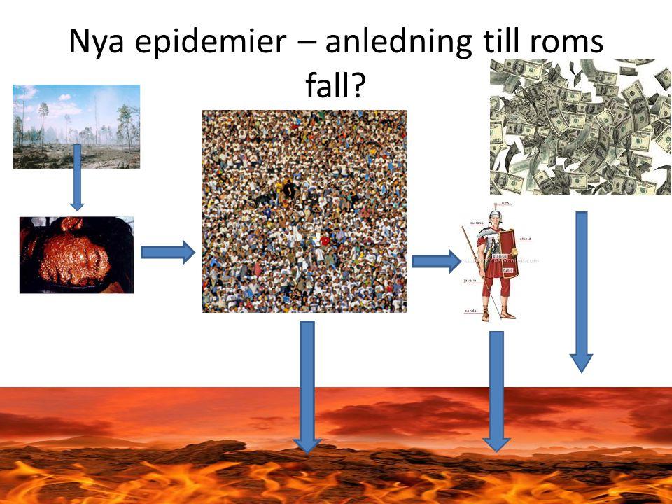 Romarrikets sociala hierarki - En anledning till romarrikets fall? • Patricier • Senatorer • Adelsmän • Plebejer • Befriade slavar • Slavar