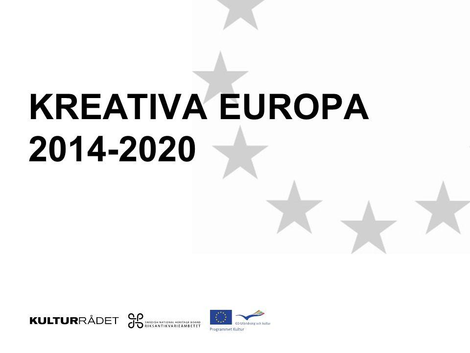 KREATIVA EUROPA 2014-2020