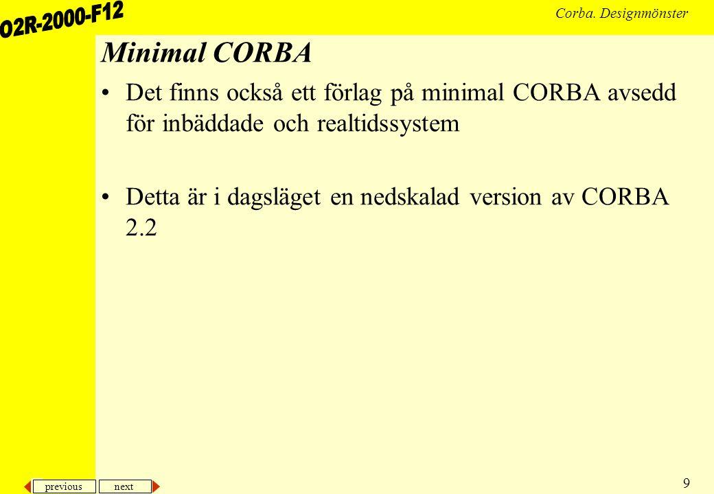 previous next 9 Corba.