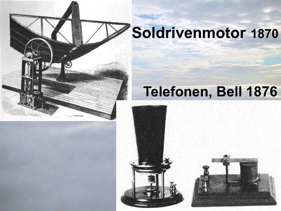 Soldrivenmotor 1870 Telefonen, Bell 1876