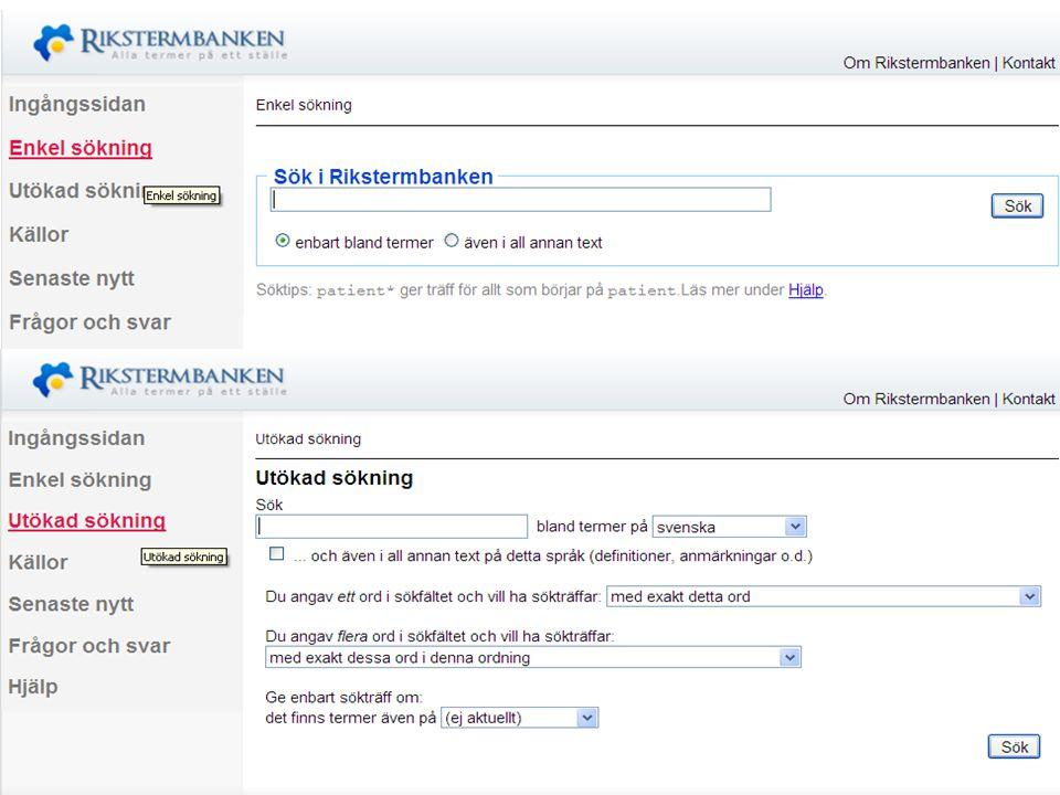 Västra vägen 7 B 169 61 Solna Telefon: 08-446 66 00 Telefax: 08-446 66 29 Webbplats: www.tnc.se E-post: tnc@tnc.se © Terminologicentrum TNC x.x Man ka