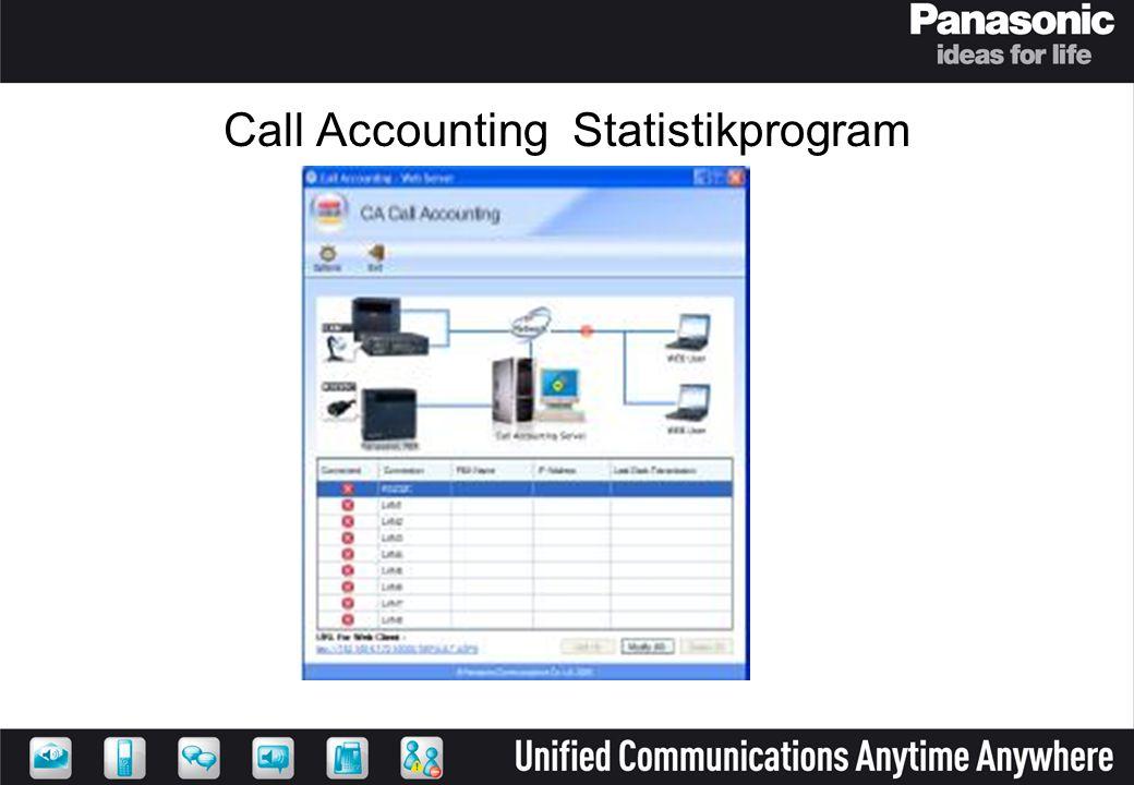 Call Accounting Statistikprogram