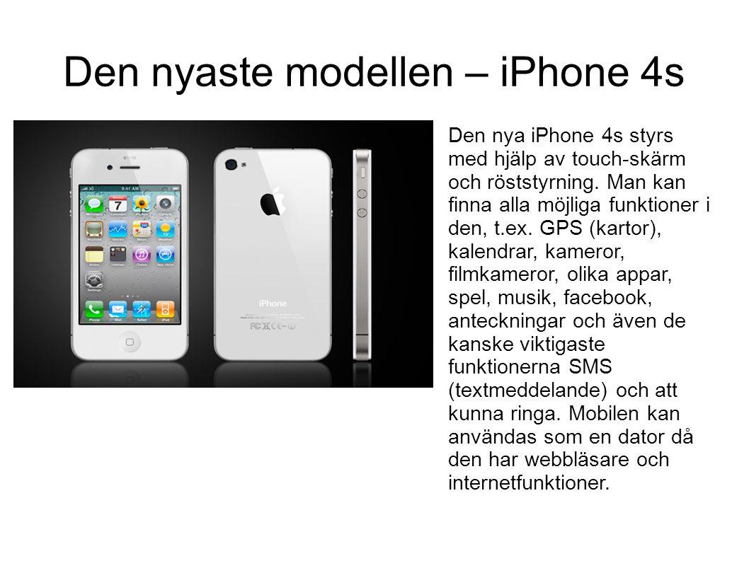 Mobilerna utvecklas.... Från stora och klumpiga mobiler med antenn till mindre mobiler med mer funktioner och finesser. En stor övergång var när mobil